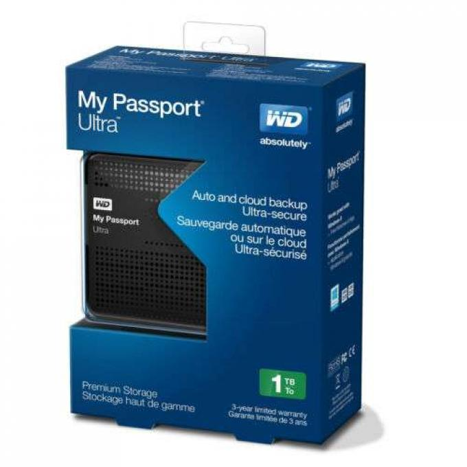1TB WD My Passport Ultra USB 3.0 Portable New
