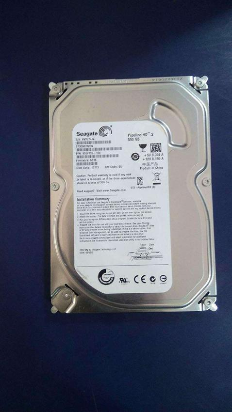 500GB HARD DISK FOR DESKTOP