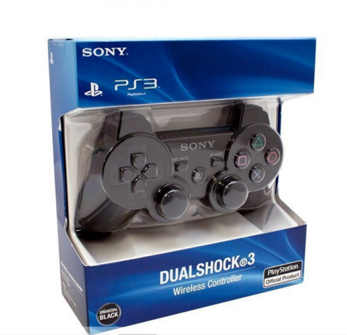 SONY DualShock 3 Wireless Controller Features Bluetooth for wireless game play